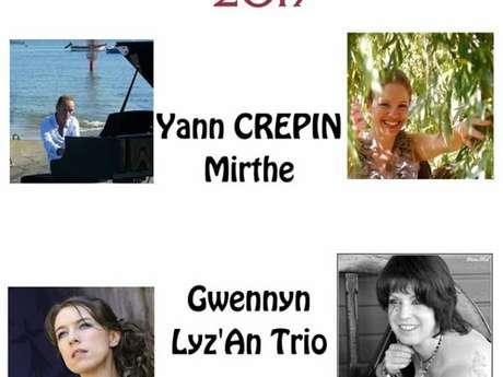 Yann Crépin, Mirthe, Gwennyn et Lyz'An Trio