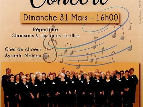 Concert chorale - Le Temps de Chanter