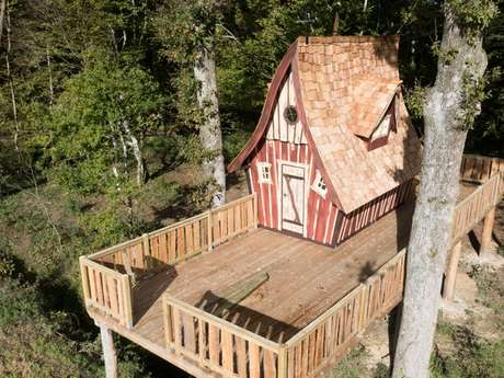 Domaine des Hayes - Les cabanes des lutins
