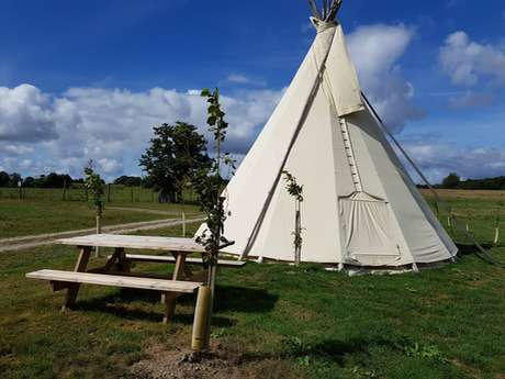 Tepee - Domaine des Hayes