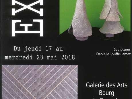 Exposition Danièle Jouffe-Jamet et AJA