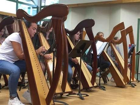 Exposition de Harpes
