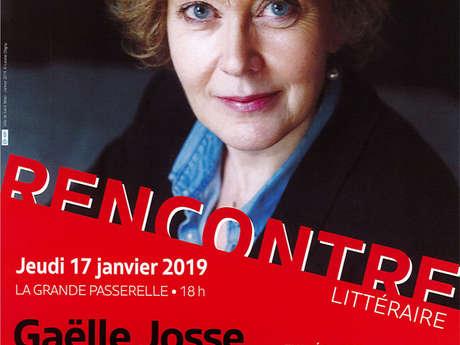 Les rencontres littéraires de l'Encre Malouine : Gaëlle Josse