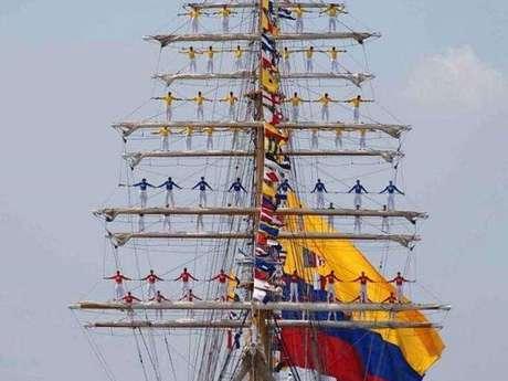 Escale et visite du navire-école A.R.C. Gloria