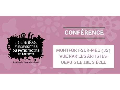 """Journées Européennes du Patrimoine - Conférence """"Montfort vu par les artistes du 17ème au 20ème siècle"""""""