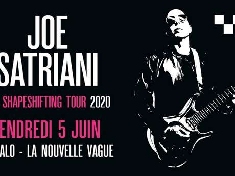 Joe Satriani - Reporté au 08/05/2021