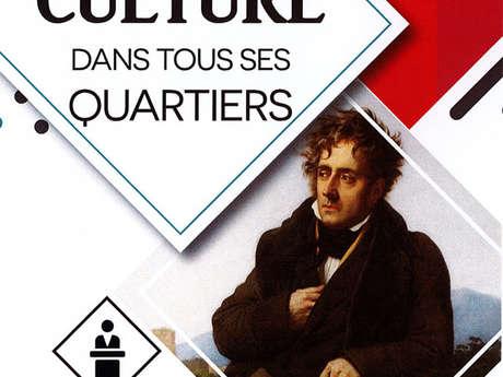 La culture dans tous ses quartiers : Chateaubriand, le dossier d'un tableau