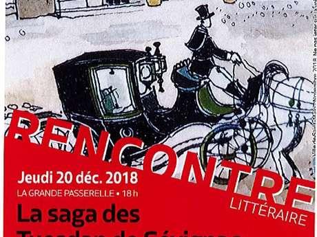 Les rencontres littéraires de l'Encre Malouine : La Saga des Tuesdan de Sévignac