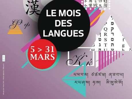 Mois des langues - Atelier : Explorons les langues