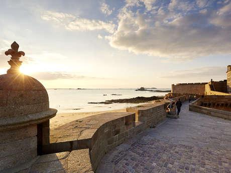 Visite panoramique sur les remparts de Saint-Malo