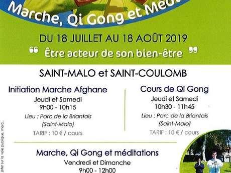 Cours de Marche, Qi Gong et Méditation