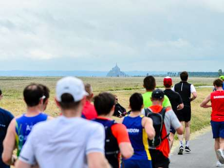 Run In Mont-Saint-Michel by Harmonie Mutuelle - Marathon de la baie