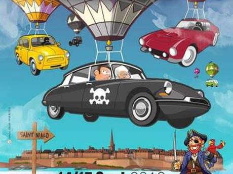 7ème Rallye des Corsaires - Défilé de véhicules anciens