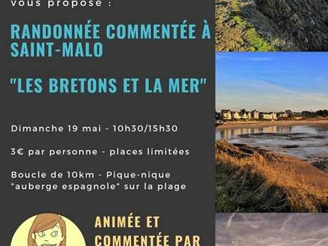 """Randonnée conviviale et commentée """"Les Bretons et la Mer"""""""