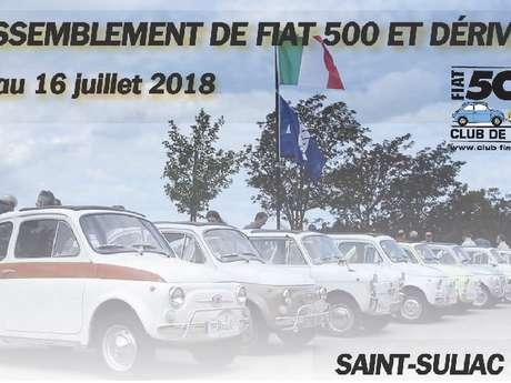 Rassemblement de FIAT 500 et dérivés