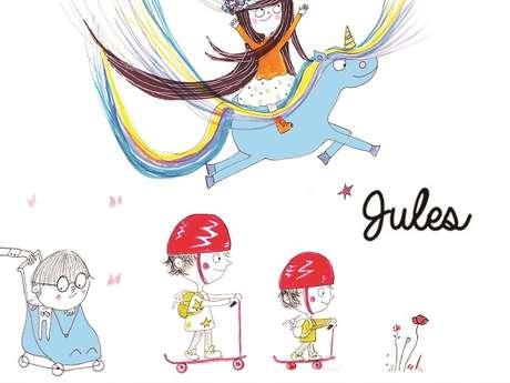 Rencontre-dédicace avec l'auteure jeunesse Jules