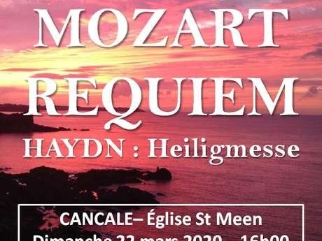 Requiem de Mozart et Heiligmesse de Haydn