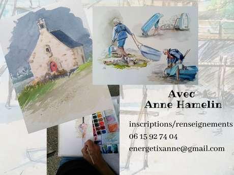 Stage Carnet de croquis aquarelle