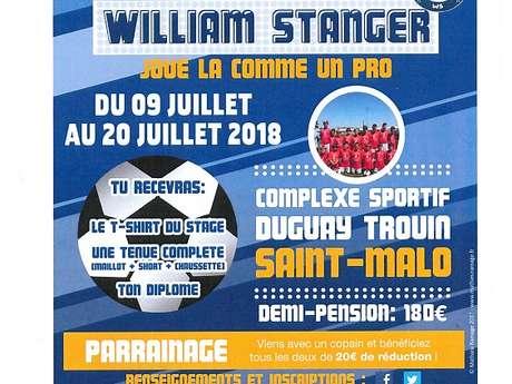Stage de foot William Stanger