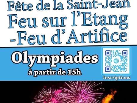 fête de la Saint-Jean et feu d'artifice