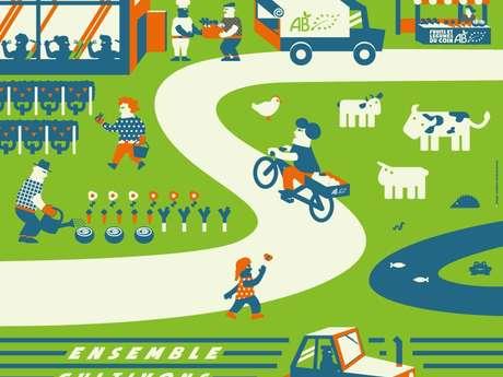 """Semaine pour les alternatives aux pesticides : Animation """"la vie du sol au potager"""""""