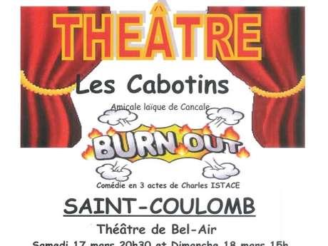 """Théâtre """"Burn Out"""" par les Cabotins"""