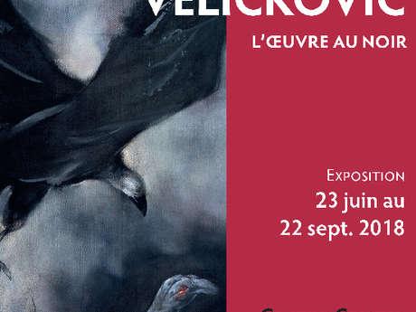 Vladimir Velickovic, l'oeuvre au noir