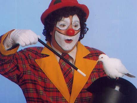 Zigomard le Clown magicien