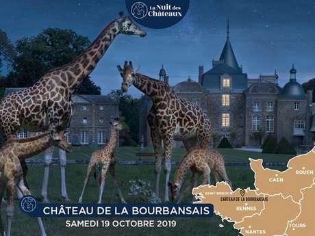 La nuit des châteaux : Domaine de La Bourbansais
