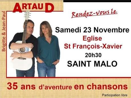 Concert avec Brigitte et Jean Paul Artaud
