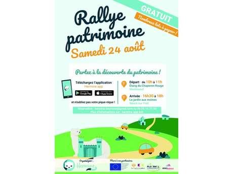 Rallye Patrimoine en voiture en Brocéliande