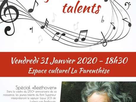 """Concert des Jeunes Talents """"spécial Beethoven"""""""