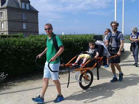 CJF Handisport - Randonnée Joëlette et fauteuil hypocampe