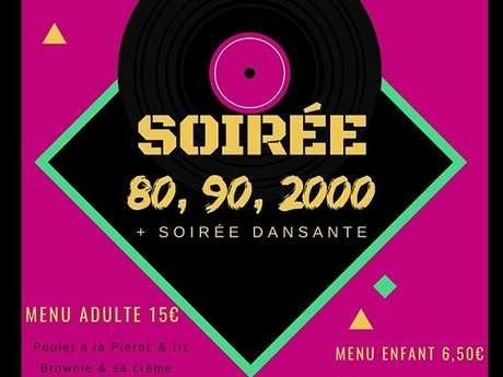 Soirée dansante Années 80-90-2000