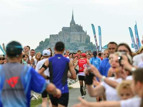 Run In Mont-Saint-Michel : Le marathon