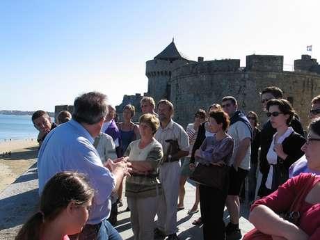 Visite guidée de la Cité Corsaire pour les Journées Européennes du Patrimoine