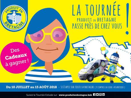 Tournée estivale Produit en Bretagne