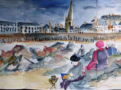 Sketchcrawl - Dessinons Saint-Malo