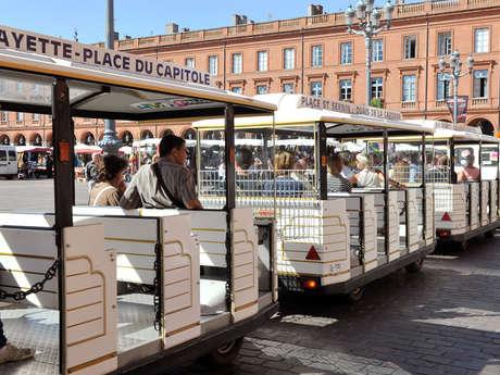 LES TRAINS TOURISTIQUES DE TOULOUSE