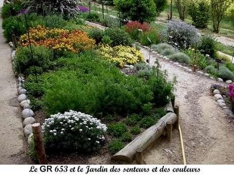 JARDIN DES SENTEURS ET DES COULEURS, CHEMIN DE DECOUVERTES