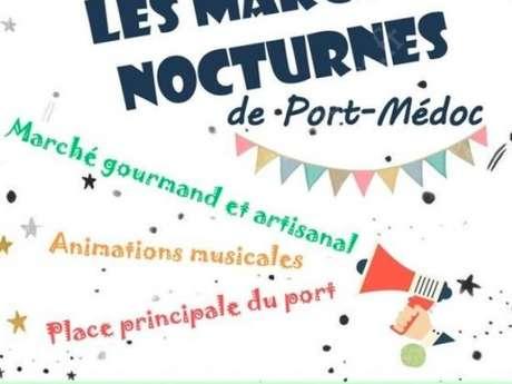 Marché nocturne de Port Médoc