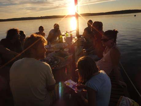 Le Chaland : Le Chaland  balades et dégustations sur le lac