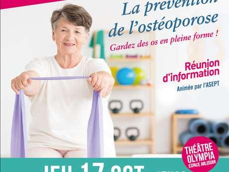 """Arcachon bien vire """"La prévention de l'ostéoporose"""""""