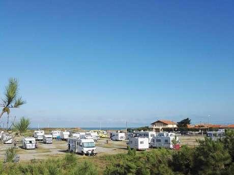 Aire de camping-car de Montalivet
