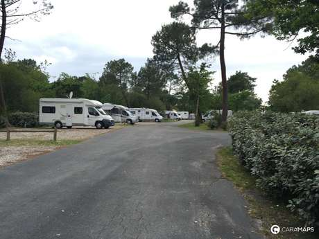 Aire de camping-cars d'Hourtin-Port