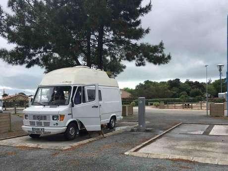 Aire de camping-cars du Verdon
