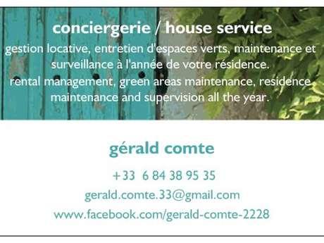 Conciergerie / House service - Gérald Comte