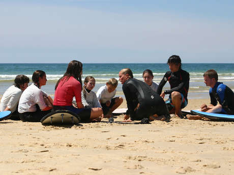 Ecole de Surf Les Loubines