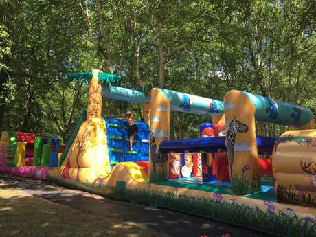 Les 3 Bandits - Parcours Gonflables & Trampoline