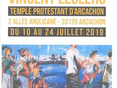 Expo Peinture Vincent Leclerc